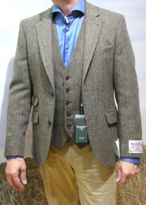 Harris Tweed: colberts en gilets